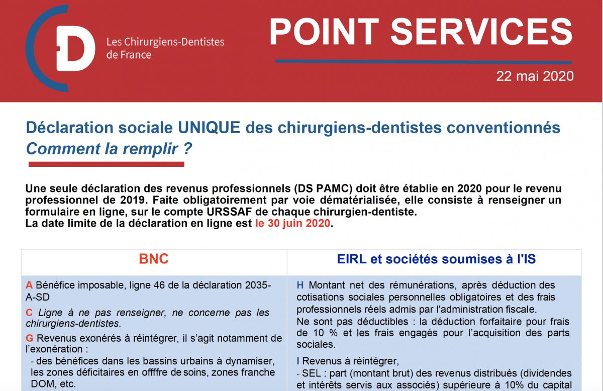 Declaration sociale unique